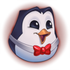Hype Pengu Red Emote
