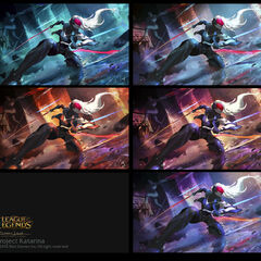 PROJECT: Katarina Splash Concept 4 (by Riot Artist <a href=