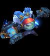Poppy Astronaut (Aquamarine)