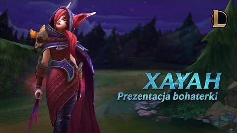 Prezentacja bohatera - Xayah