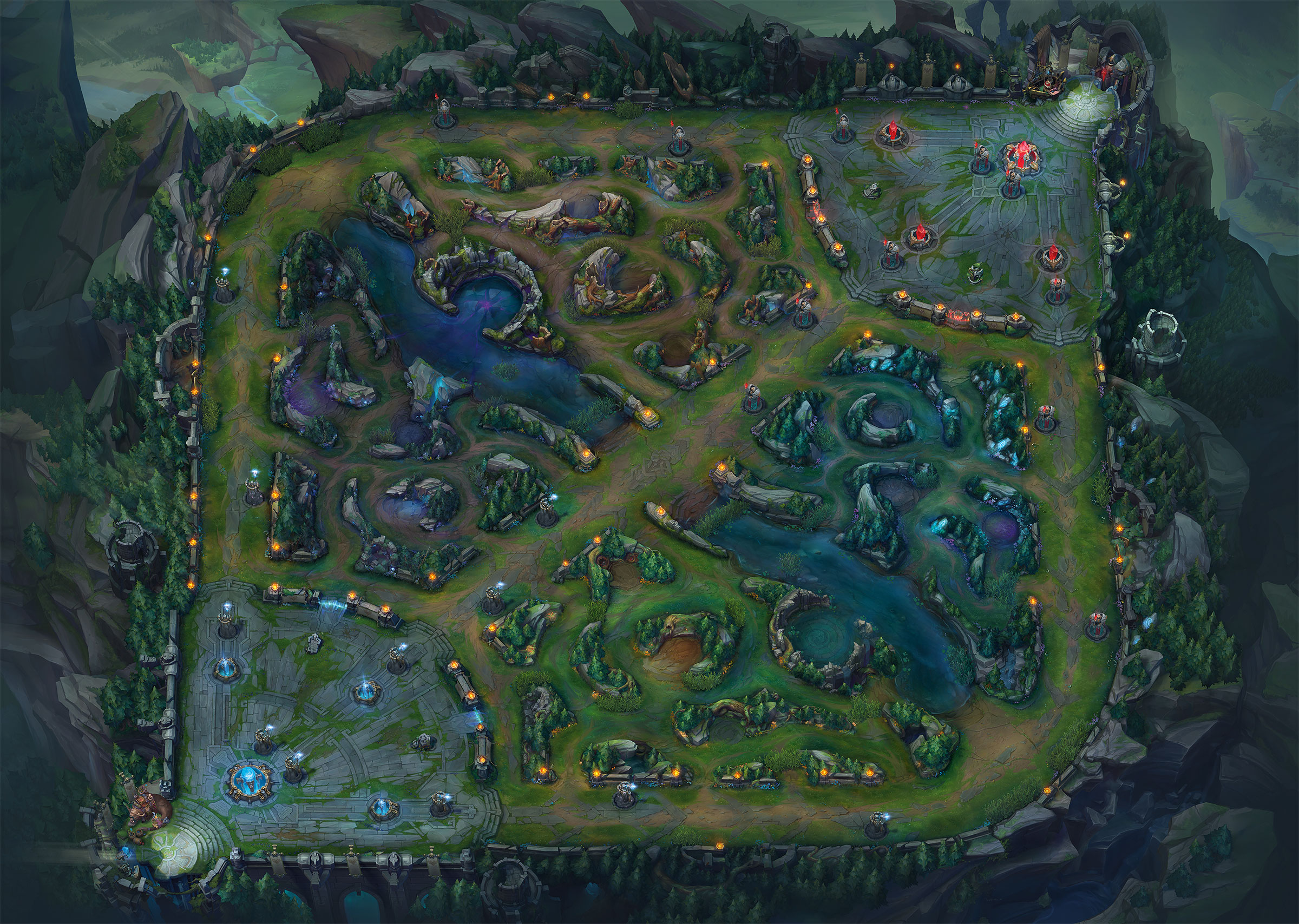 image  summoner's rift update mappng  league of legends wiki  - summoner's rift update mappng