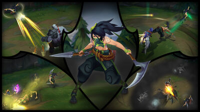 Akali Update Screenshots