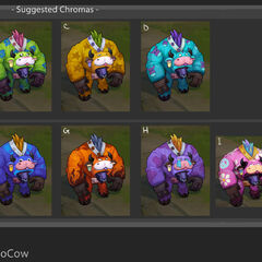 Moo Cow Alistar Chroma Concept (by Riot Artists <a href=