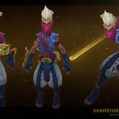 Sandstorm Ekko Model 2 (by Riot Artist <a href=