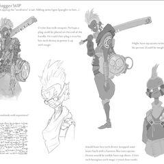 Ekko Concept 7 (by Riot Artist <a href=