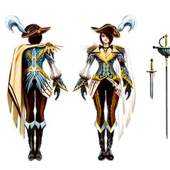 Royal Guard Fiora Concept