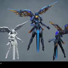 Riot Kayle Update Model 1 (by Riot Artists <a href=