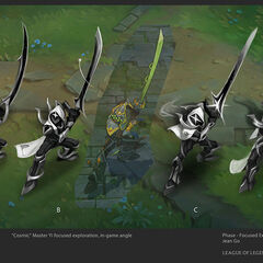 Cosmic Blade Yi Concept 2 (by Riot Artist <a href=