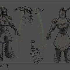 Chosen Master Yi Update Concept (by Riot Artist <a href=