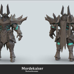 Mordekaiser Update Model 3 (by Riot Artist <a href=