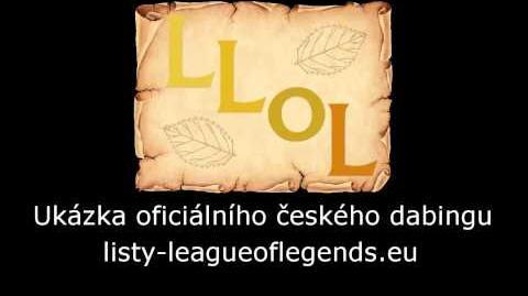 KrPa/Oficiální český dabing League of Legends
