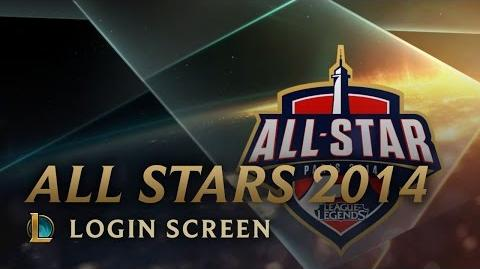 All-Star Paris 2014 - Login Screen