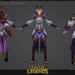 Lunar Goddess Diana Model 2 (by Riot Artists <a rel=