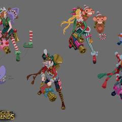 Ambitious Elf Jinx Concept 1 (by Riot Artist <a href=
