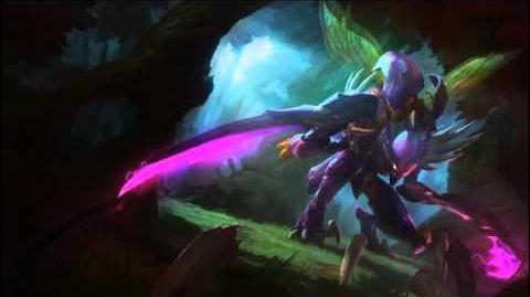 Kha'Zix League Of Legends Login Screen With Music