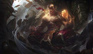 Lee Sin GodFistSkin
