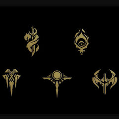 Faction Icons Concept 1 (by Riot Artist <strong class=