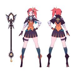 Battle Academia Lux Concept 1 (by Riot Artist <a href=