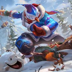 Snow Man Yi Splash Concept 2 (by Riot Artist <a href=