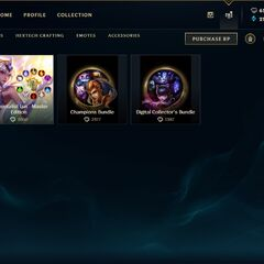 Champion bundles store page <small>(Patch <a href=