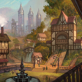 Old Bandle City skyline (by Riot Artist <a rel=