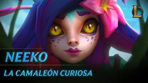 Neeko, la Camaleón Curiosa Tráiler de campeón - League of Legends