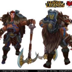 Woad King Darius Model