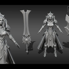 Leona Eclipse Model 1 (by Riot Artist <a href=