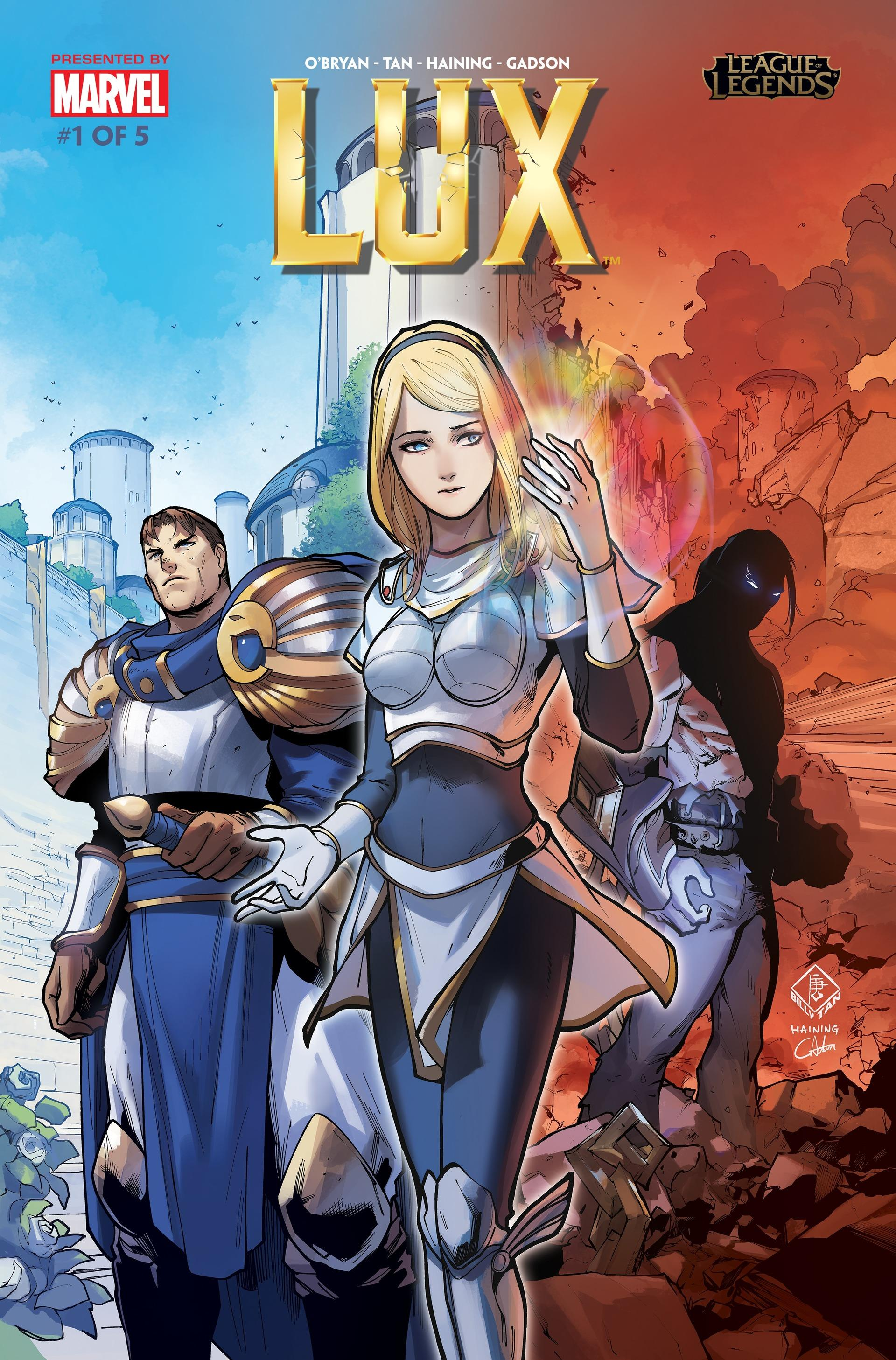 Lux Comic 1 Cover 1