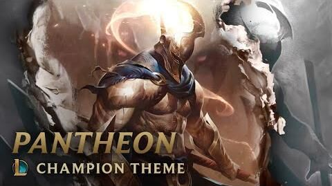 Pantheon, der unbeugsame Speer - Login Screen