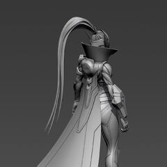 PROJECT: Vayne The Hunt Model 5 (by Riot Artist <a rel=
