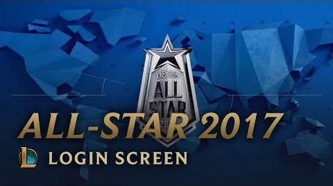 All-Star 2017 - ekran logowania
