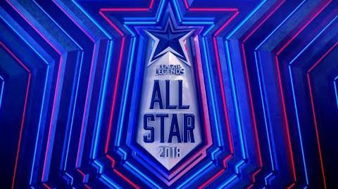 All-Star 2018 - Login Screen