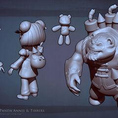 Panda Annie Model 1 (by Riot Artist <a href=