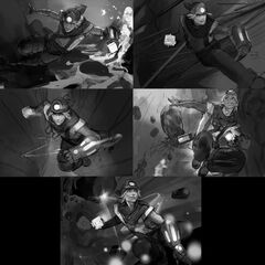 Explorer Ezreal Update Splash Concept 1 (by Riot Artist <a rel=
