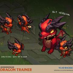 Dragon Trainer Heimerdinger Concept 5 (by Riot Artist <a href=