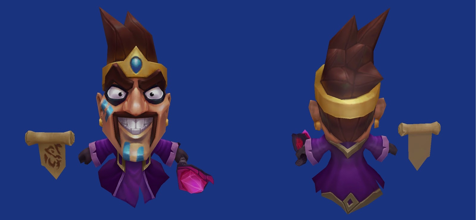 Minion Draven purple caster