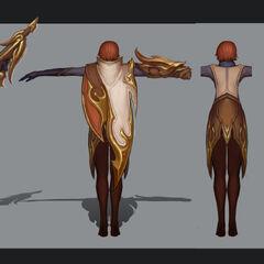 Grafika koncepcyjna skórki Quinn (w wykonaniu Michaela