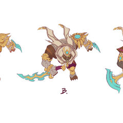 Guardian of the Sands Rengar Concept 2 (by Riot Artist <a href=