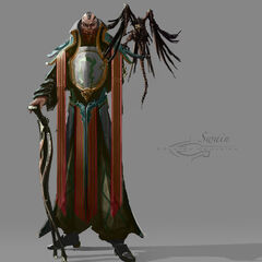 Swain concept art (by Riot Artist <a rel=