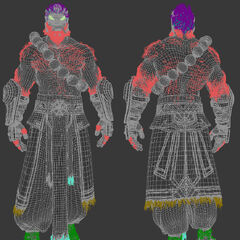 Spirit Guard Udyr Cinematic Model 1 (by Riot Artist <a rel=