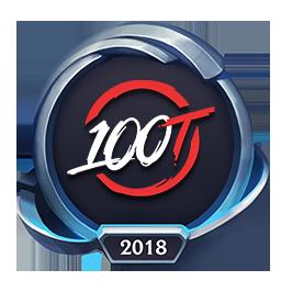 Worlds 2018 100 Thieves Emote