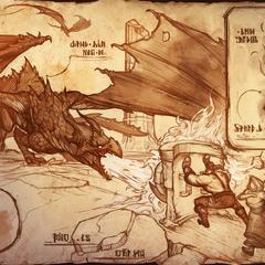 Dragonslayer Pantheon <a rel=