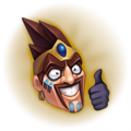 Draven Approves! Emote.png