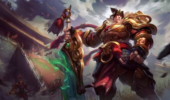 Garen WarringKingdomsSkin