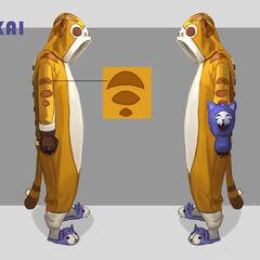 Meokai Onesie Concept 2 (by Riot Artist <a rel=