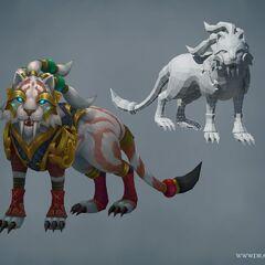 Warring Kingdoms Nidalee Model (by Riot Artists <a href=