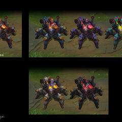 High Noon Urgot Chroma Concept (by Riot Artist <a rel=