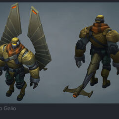 Commando Galio Update Model (by Riot Artist <a rel=