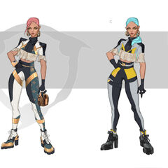 Prestige True Damage Qiyana Concept 1 (by Riot Artist <a href=